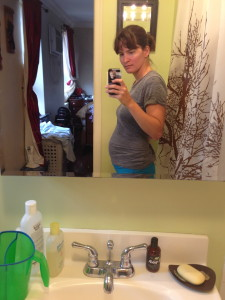 15 week belly (taken Aug 29)
